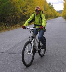 логопед и велосипед